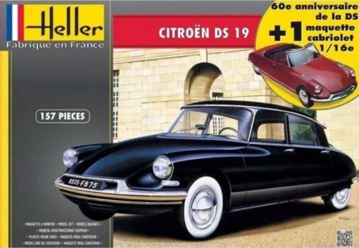 Heller 1/16 Citroen DS 19 # 85795