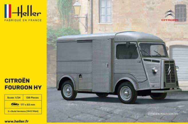 Heller 1/24 Citroen Type H Van - HY # 80768