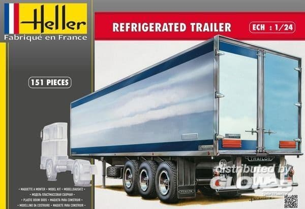 Heller 1/24 Refrigerated Trailer # 80776