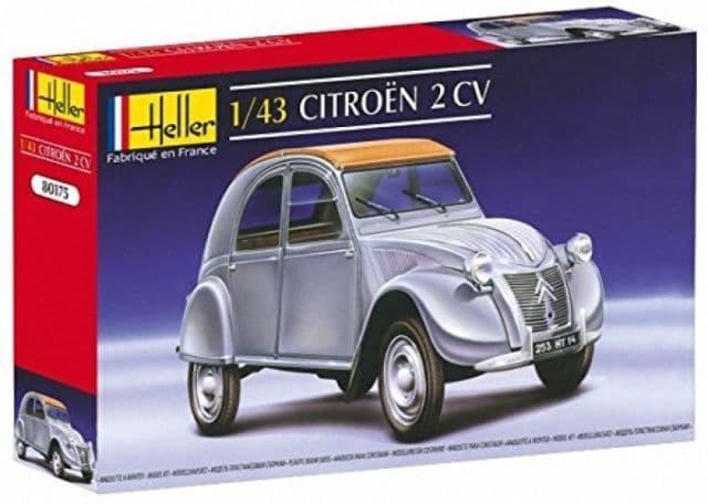 Heller 1/43 Citroen 2 CV # 80175