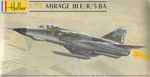 Heller 1/72 Mirage III E/R/5/ BA # 80323