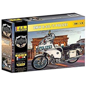 Heller 1/8 BMW R-60/5 Polizei Gift Set # 52993