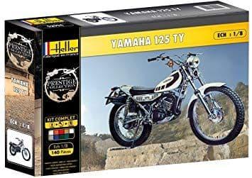 Heller 1/8 Yamaha 125 TY Gift Set # 52994