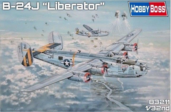 Hobby Boss 1/32 B-24J Liberator # 83211