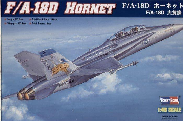 Hobby Boss 1/48 F/A-18D Hornet # 80322