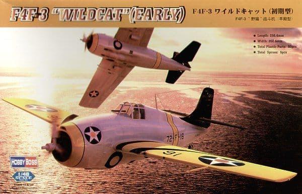 Hobby Boss 1/48 F4F-3 Wildcat (Early) # 80326