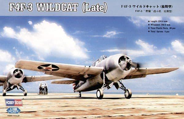 Hobby Boss 1/48 F4F-3 Wildcat (Late) # 80327