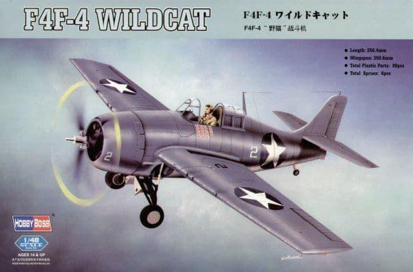 Hobby Boss 1/48 F4F-4 Wildcat # 80328