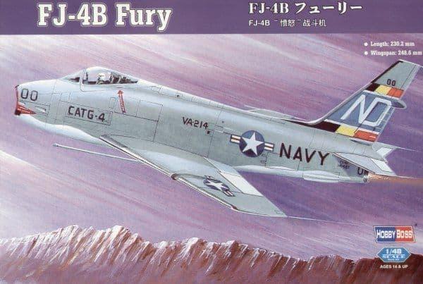 Hobby Boss 1/48 FJ-4B Fury # 80313