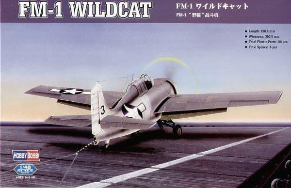 Hobby Boss 1/48 FM-1 Wildcat # 80329