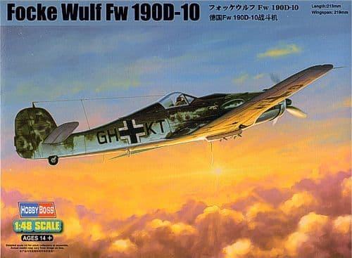 Hobby Boss 1/48 Focke-Wulf FW190 D-10 # 81717
