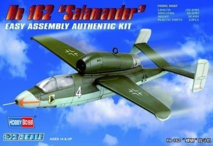 Hobby Boss 1/72 Heinkel He162 Salamander # 80239