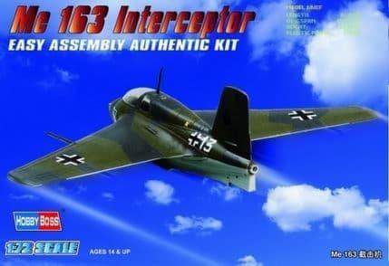 Hobby Boss 1/72 Messerschmitt Me163 Komet # 80238