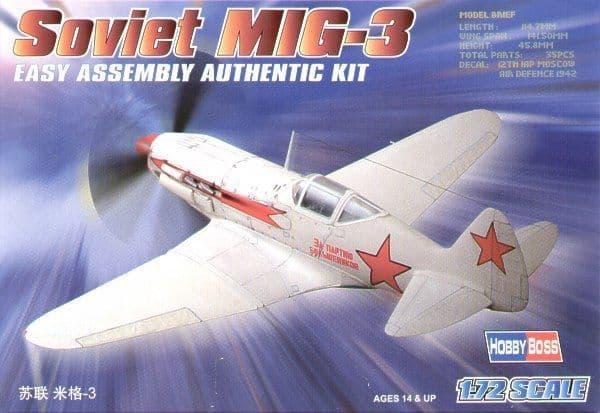 Hobby Boss 1/72 Mikoyan-Gurevich MiG-3 Easy Assembly # 80229
