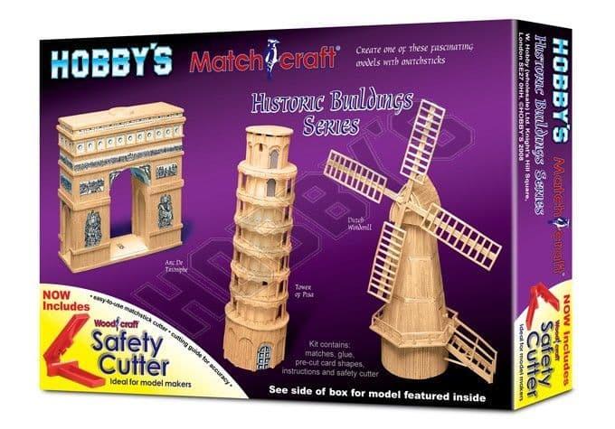 Hobby's Matchcraft - Arc De Triomphe Matchstick Kit # 11533