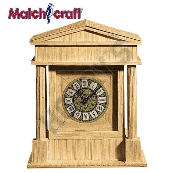Hobby's Matchcraft - Coliseum Clock Matchstick Kit # 11600