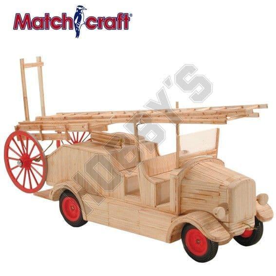 Hobby's Matchcraft - Fire Engine & Ladder Matchstick Kit # 11541