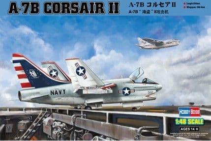 HobbyBoss 1/48 A-7B Corsair II # 80343