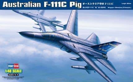 HobbyBoss 1/48 Australian F-111C Pig # 80349