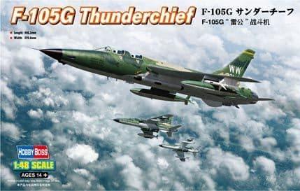 Hobbyboss 1/48 F-105G Thunderchief # 80333