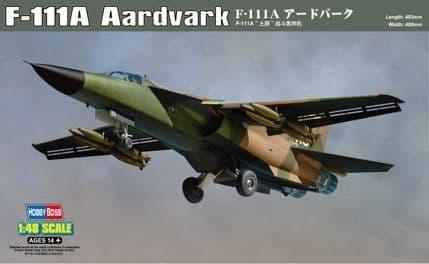 HobbyBoss 1/48 F-111A Aardvark # 80348