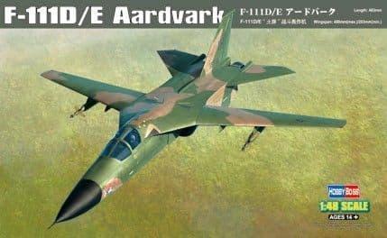 HobbyBoss 1/48 F-111D/E Aardvark # 80350