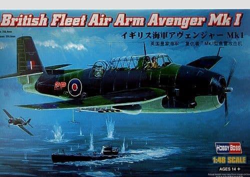 HobbyBoss 1/48 Grumman Avenger Mk.1 Fleet Air Arm # 80331