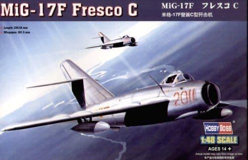 HobbyBoss 1/48 MiG-17F Fresco C # 80334