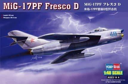 Hobbyboss 1/48 MiG-17PF Fresco D # 80336