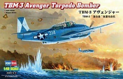 Hobbyboss 1/48 TBM-3 Avenger # 80325