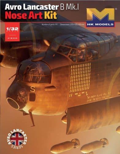 Hong Kong Models 1/32 Avro Lancaster B.Mk.I Nose Art Kit # 01E33
