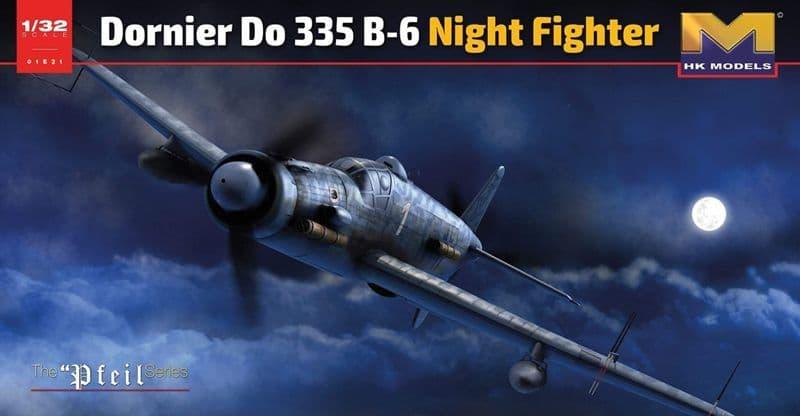 Hong Kong Models 1/32 Dornier Do-335 B-6 Night Fighter # 01E21