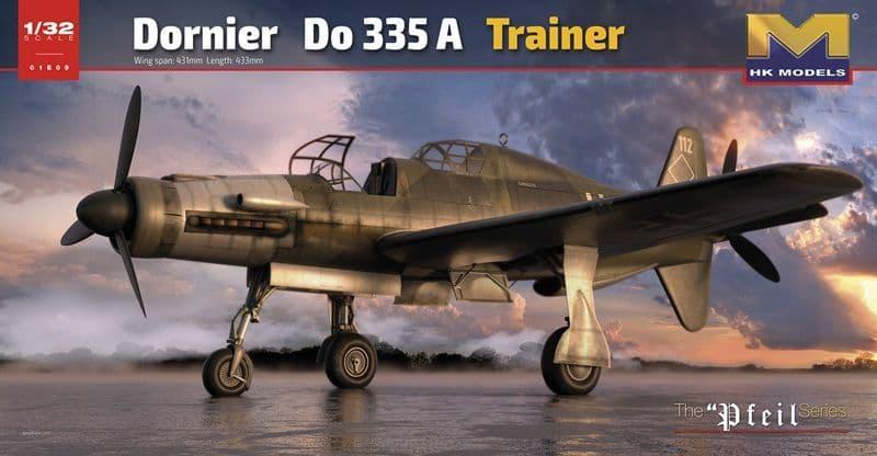 Hong Kong Models 1/32 Dornier Do-335A-12 2 Seat Trainer # 01E09