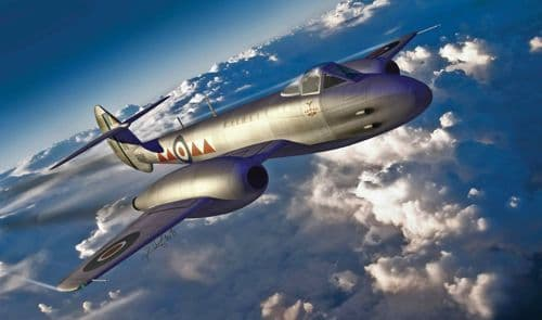 Hong Kong Models 1/32 Gloster Meteor F.4 # 01E06