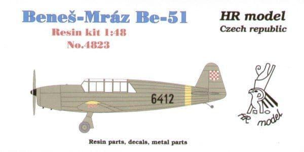 HR Model 1/48 Benes-Mraz Be-51 # 4823
