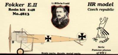 HR Model 1/48 Fokker E.II # 4813