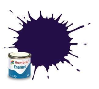 Humbrol 14ml Gloss Purple enamel paint # 68