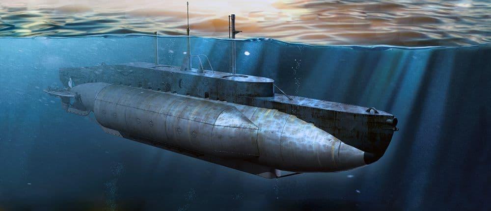I LOVE KIT 1/35 British X-Craft Submarine # 63504