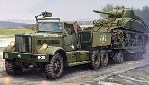 I LOVE KIT 1/35 M19 U.S. Army Tank Transporter Soft Top Cab # 63502