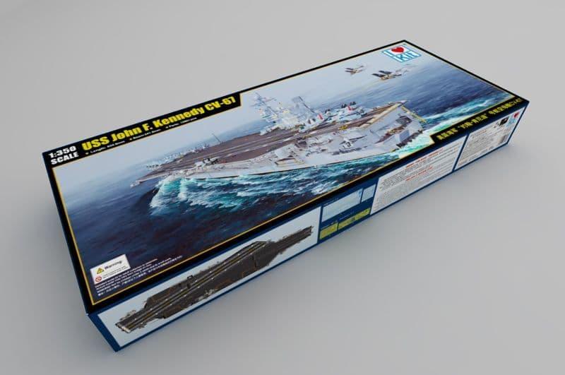 I LOVE KIT 1/350 USS John F Kennedy CV-67 # 65306