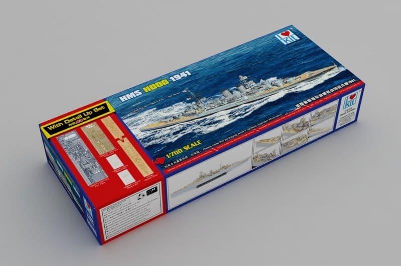 I LOVE KIT 1/700 HMS Hood 1941 # 65703