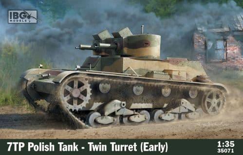 IBG 1/35 7TP Polish Tank - Twin Turret (Early) # 35071