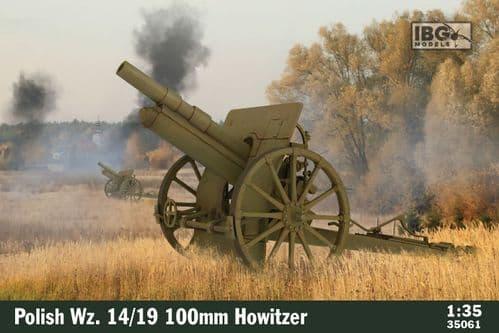 IBG 1/35 Polish Wz. 14/19 100mm Howitzer # 35061