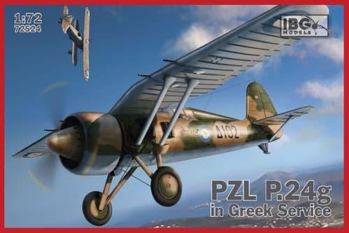 IBG 1/72 PZL P.24G  in Greek Service # 72524