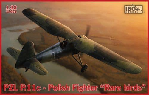 IBG Models 1/32 PZL P.11c Polish Fighter -