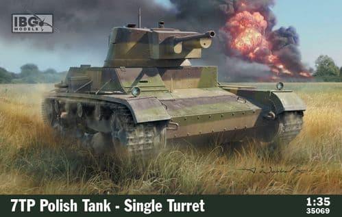 IBG Models 1/35 7TP Polish Tank - Single Turret # 35069