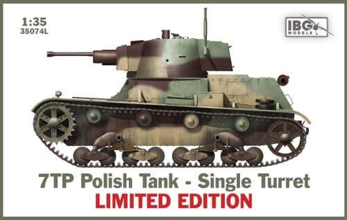 IBG Models 1/35 7TP Polish Tank - Single Turret (Limited Edition) # 35074L