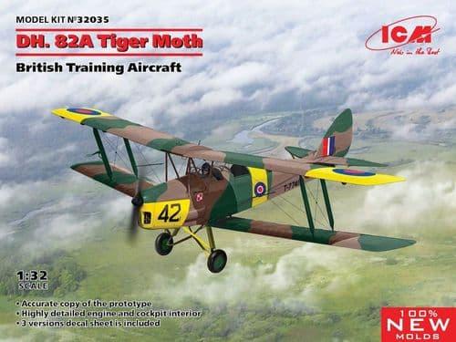 ICM 1/32 de Havilland DH.82A Tiger Moth # 32035
