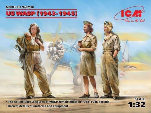 ICM 1/32 US WASP (1943-1945) # 32108
