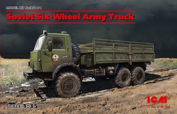 ICM 1/35 Soviet Six-Wheel Army Truck # 35001